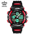 Cool SMAEL Children LED Digital Analog Watches Multifunctional Alarm Clock 50M Waterproof Shock Resistant Wrist Watches WS0508A