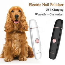 Rechargeable Painless Pet Nail Clipper USB Electric Dog Cat Care Grooming Paw Nail Trimmer Clipper Pets Paws Cutter Tool