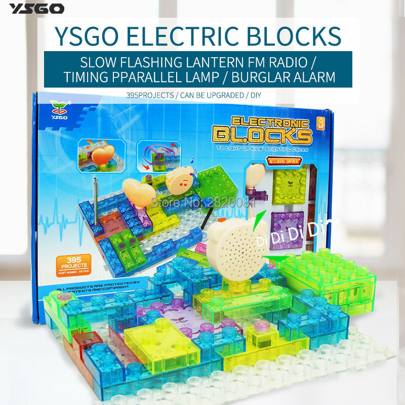 Electronic Blocks DIY Kits Integrated circuit building blocks snap circuit model kits,395 projects 59pcs brick for kid gift mukhzeer mohamad shahimin and kang nan khor integrated waveguide for biosensor application