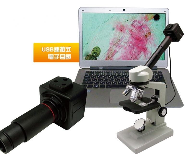 5.0 MP USB Video CMOS Camera with C-Mount 0.5X Eyepiece Adapter 23.2 mm 30 mm 30.5 mm Relay Lens Digital Electronic Eyepiece