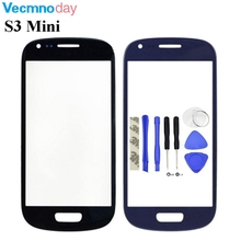 "Vecmnoday 4.0"" High Quality New Replacement Touch Screen Glass Front Glass Lens + Tools For Samsung Galaxy S3 mini i8190 8190"