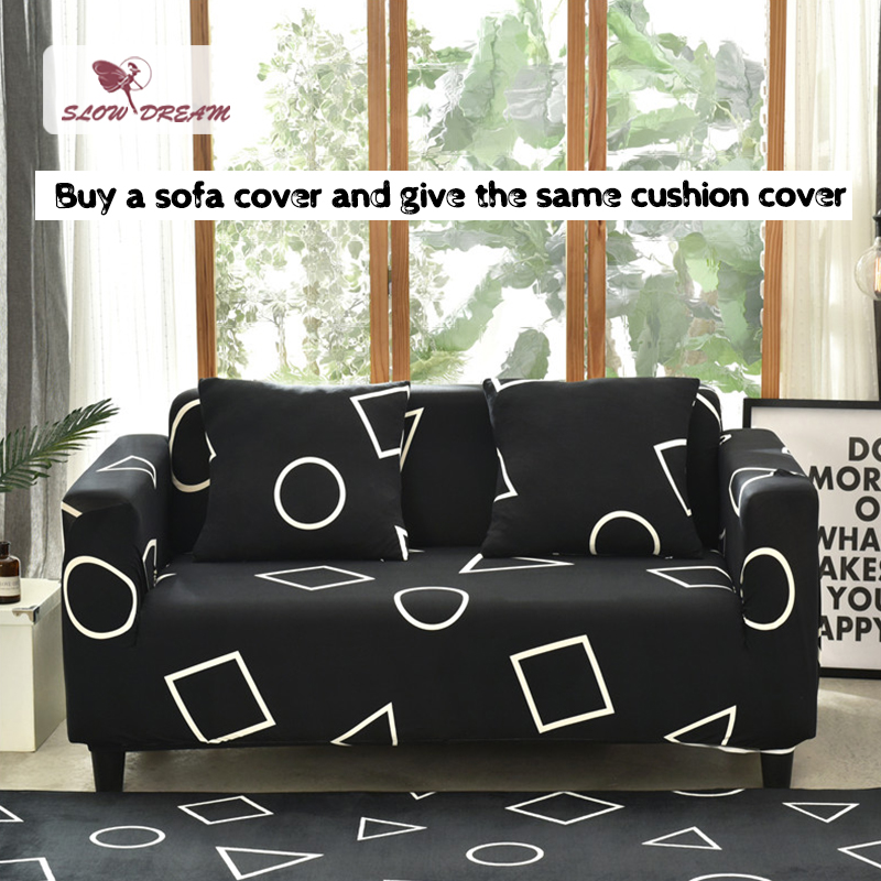 Fabulous Slowdream Euro Sofa Covers Nordic Couch Cover Meeting Sofa Living Room Case Modern Plaid Corner Sofas Cushion Cover Seat Covers Uwap Interior Chair Design Uwaporg
