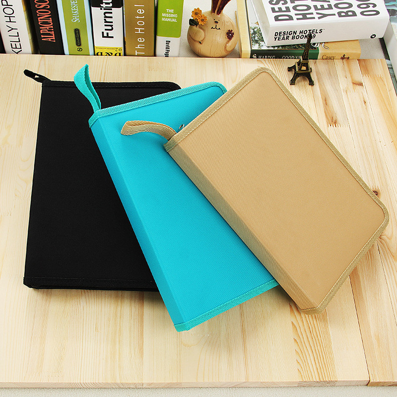 Drawing 72 Holes Pencil Case Art Drawing Accessory Fold Color Stationery Store Pen Bag Pouch School Holder Pencilcase Supply Bts