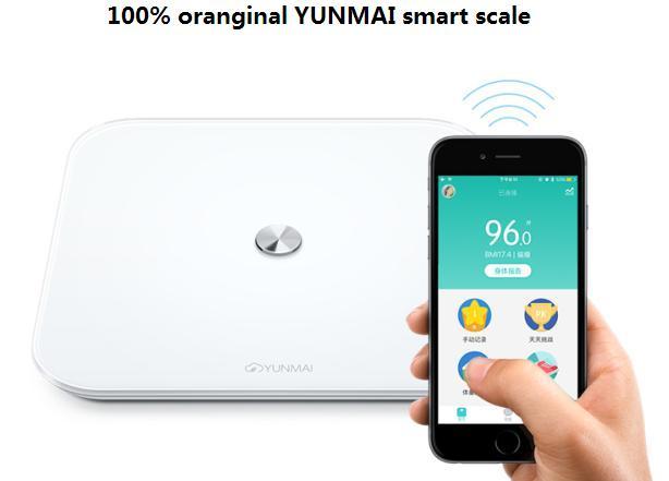 Bathroom App aliexpress : buy original yunmai se smart scales household