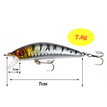 5pcs/Lot Fishing Lures Set Mixed 5 Models Minnows Bait Artificial Make Bass Crankbaits High Quality Wobblers Fishing Tackle