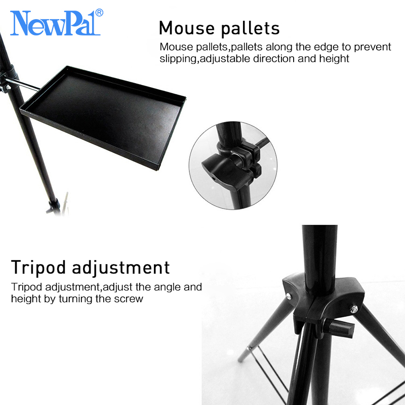 Image 4 - Projector Bracket Aluminum Pallet Anti scratch Floor Projector Stand Tripod For Laptop Bracket Stand Russia Warehouse Clearance-in Projector Brackets from Consumer Electronics