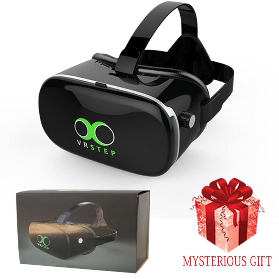 6f35bd9b193d 2017 New Listing 3D Virtual Reality Goggles VR Glasses HD Environmental  Material Smartphones 4 6 Inch Add 3.0 Bluetooth Gamepad-in 3D Glasses   Virtual ...