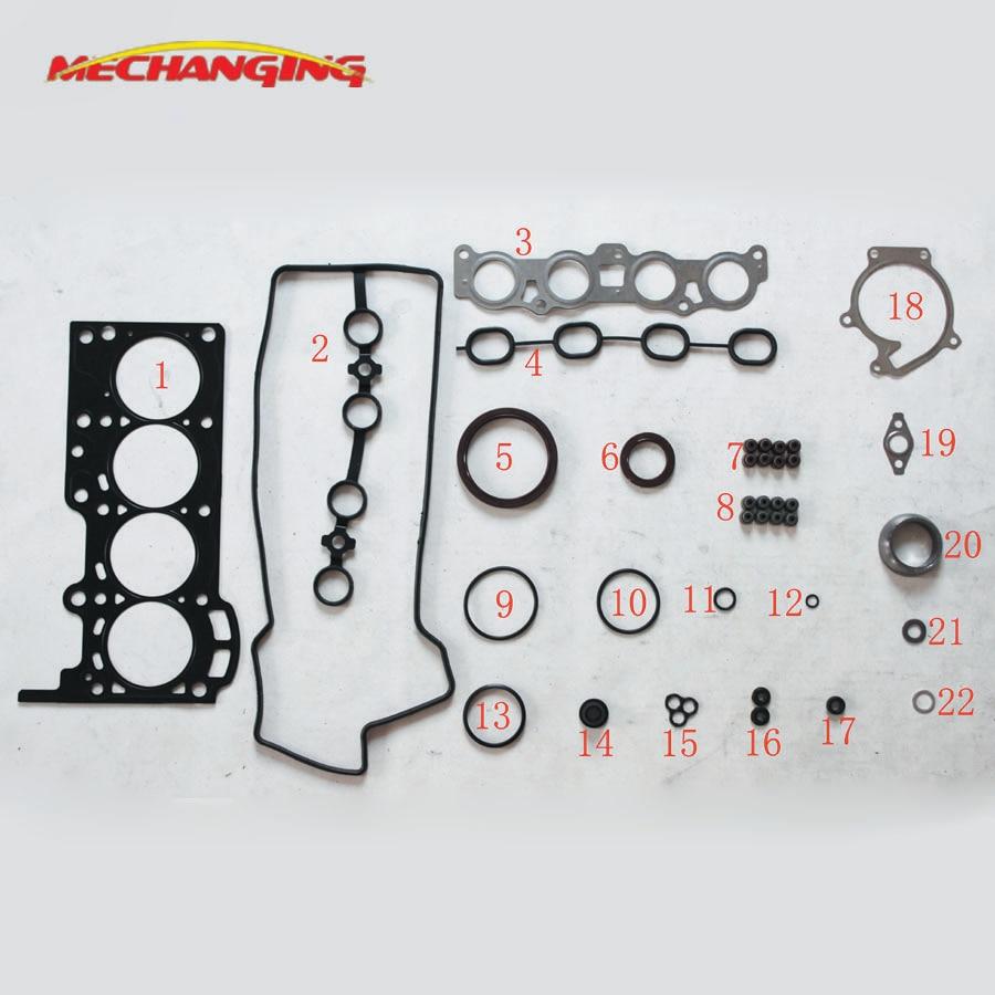 For DAIHATSU TERIOS K3 VE K3 K3 VE2 Car Spare Parts Overhaul Package Complete Engine seal