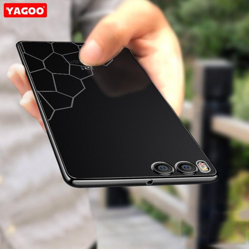 Xiaomi Mi6 case cover silicon luxury tpu armor capas original Yagoo Xiaomi mi 6 case xiomi 360 shockproof slim soft shell fundas