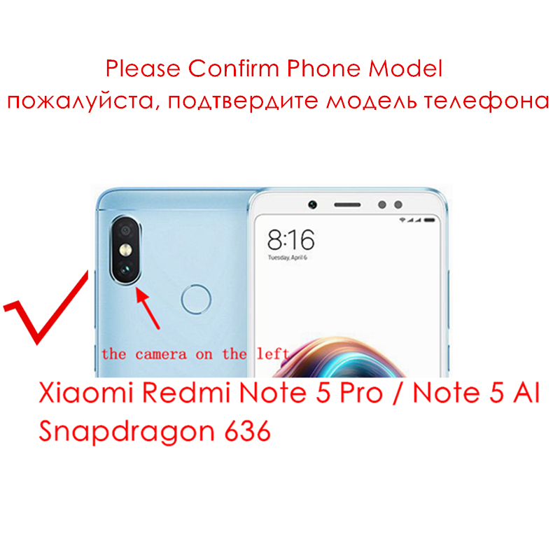 Image 2 - Original for Xiaomi Redmi Note 5 Pro LCD Display For Redmi Note 5 AI LCD + Frame Snapdragon 636 Touch Screen Replacement Parts-in Mobile Phone LCD Screens from Cellphones & Telecommunications