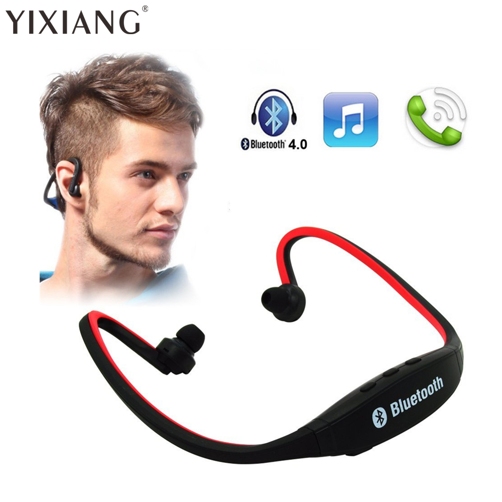 YIXIANG Sport Wireless Headphones Bluetooth 3.0 Earphone Wireless Headset In-Ear Earbuds With Microphone For Running Smartphone