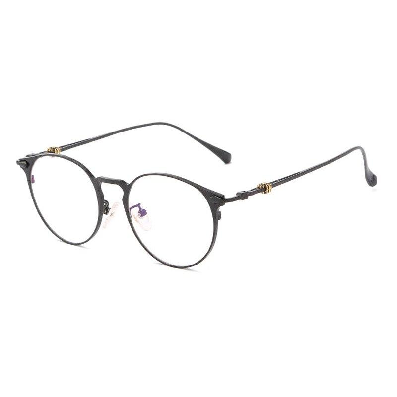 Handoer 8028 Optical Glasses Frame For Men And Women Alloy Eyewear Full Rim Alloy Spectacles Glasses Optical Prescription Frame