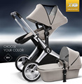 High quality!! Babysing High-landscape luxury baby strollerwith carrycot,2 in 1,travel system, X-GO pushchair/pram,high quality!