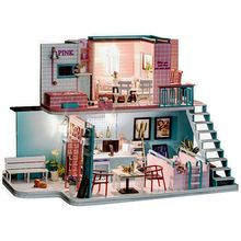 3D Doll Houses Diy Wooden Toy Furniture Thumbnails Doll House Miniature Dollhouse Toys For Children Grownups Christmas Gift handmade doll house furniture miniatura diy doll houses miniature dollhouse wooden toys for children grownups birthday gift tb4