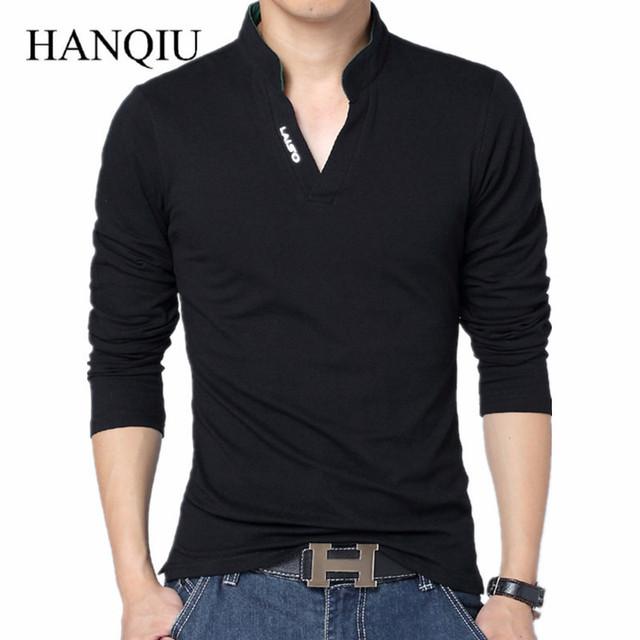 100% homens roupas de algodão 2017 primavera verão da marca clothing t camisa de Manga Comprida T-shirt Dos Homens Casual Camisetas Camisetas 4XL 5XL