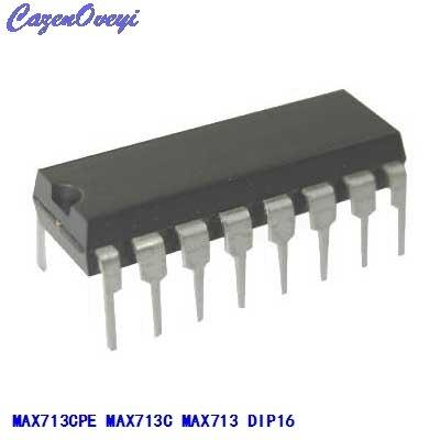 1pcs/lot MAX713CPE MAX713CPE+ MAX713EPE MAX713C MAX713 DIP-16 In Stock