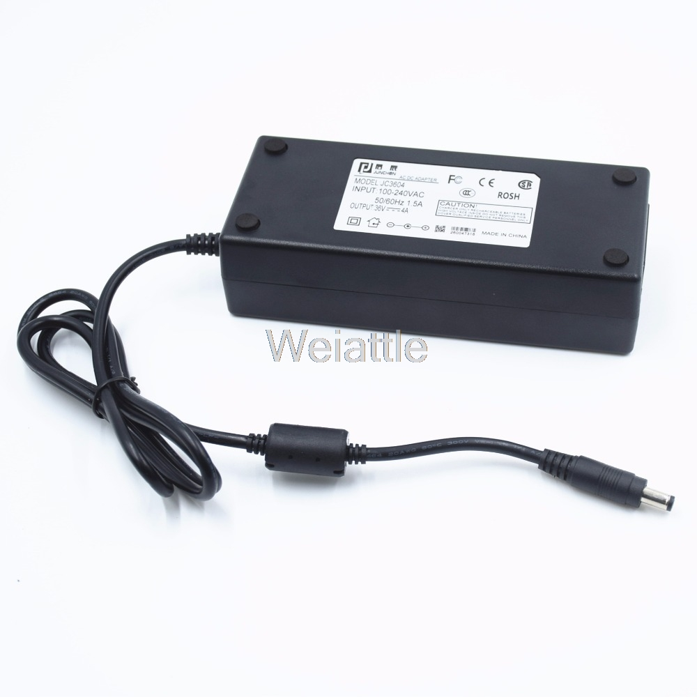 AC 100-240V To DC 36V 4A Switching Power Supply Adapter DC 5.5mm X 2.5mm Plug 144W Power Supply for LED Strip Flexible Lights