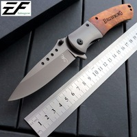 Eafengrow 351 Folding Knives 8Cr Steel Blade Wood Handle Camping Tools Survival Hunting Knife Outdoor Rescue