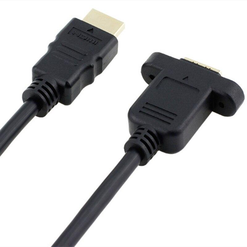 HDMI A 1.4 19pin Արական HDMI A տիպի իգական - Համակարգչային մալուխներ և միակցիչներ - Լուսանկար 3