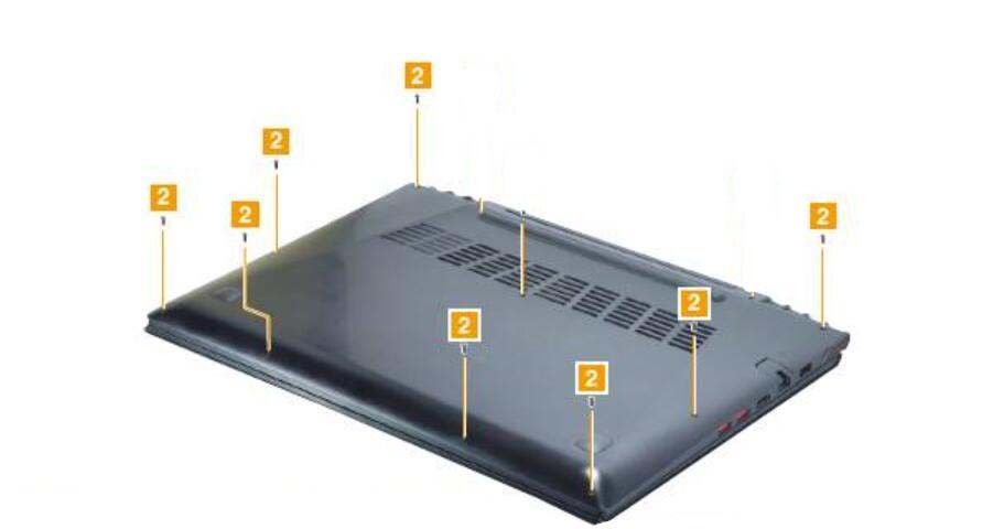 12PCS/set New Screws For Lenovo Ideapad Y50 Y50-70 Bottom Case Base Cover Lower Case