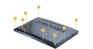 12PCS/set New Screws For Lenovo Ideapad Y50 Y50-70 Bottom Case Base Cover Lower Case Screws
