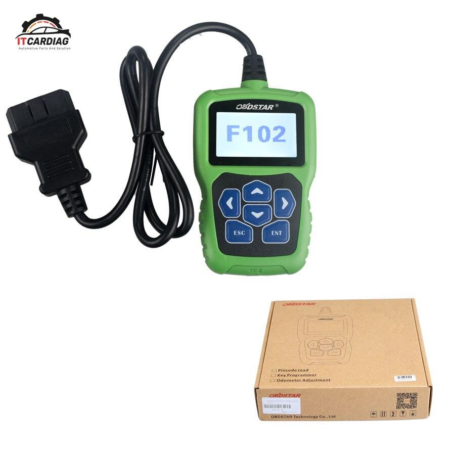 OBDSTAR F102 lecteur de Code à broches d'immobilisation pour Nissan/Infiniti outil de Correction d'odomètre de programme de clé automatique sans Limitation de jeton