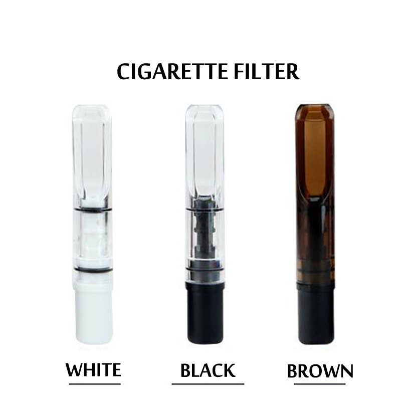5Pcs Slim Cigarette Filters Mini Tobacco Pipe Weed Smoking Bong Cleaning Mouthpiece Reduce Tar Filtration Tube Holder For Men