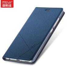 Msvii бренд для Huawei Ascend P9 случае Модные Простые Кожа PU Смарт флип-чехол Slim принципиально с карт памяти стенд Для Huawei P9
