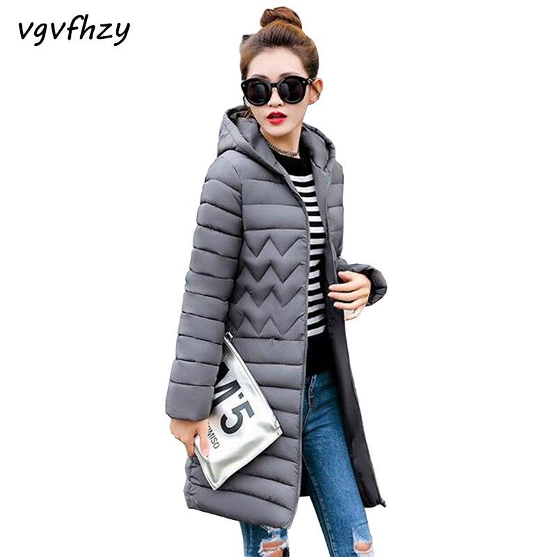 Winter Coat Women 2017 New Winter Jacket Parka Women Coat Long Slim Thickening Warm Wadded Jacket Plus size Female Coats LU484