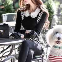 A Sweater Slim Female Pink Doll 9a11c Korean Fashion Leisure All Match Knitted Coat