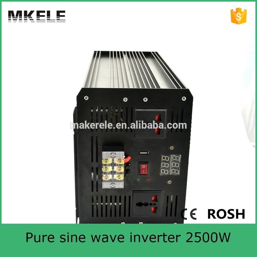 MKP2500-242B professional manufacturer 24v dc 230v ac pure sine wave power inverter off grid solar inverter for led light maylar 22 60vdc 300w dc to ac solar grid tie power inverter output 90 260vac 50hz 60hz