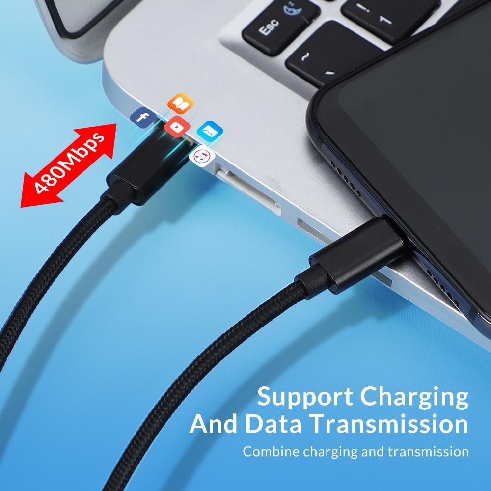 Image 4 - USB 3,1 Тип C до USB c кабель для samsung S9 S8 Note 9 8 60 Вт быстрой зарядки PD USB C быстро Зарядное устройство кабель для передачи данных до 5 gbpsfor Mac