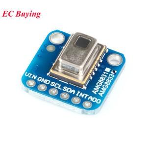 Image 4 - AMG8833 IR 8*8 אינפרא אדום חיישן מצלמה מודול תרמית Imager מערך טמפרטורת חיישן מודול IIC I2C 3 5V עבור Arduino