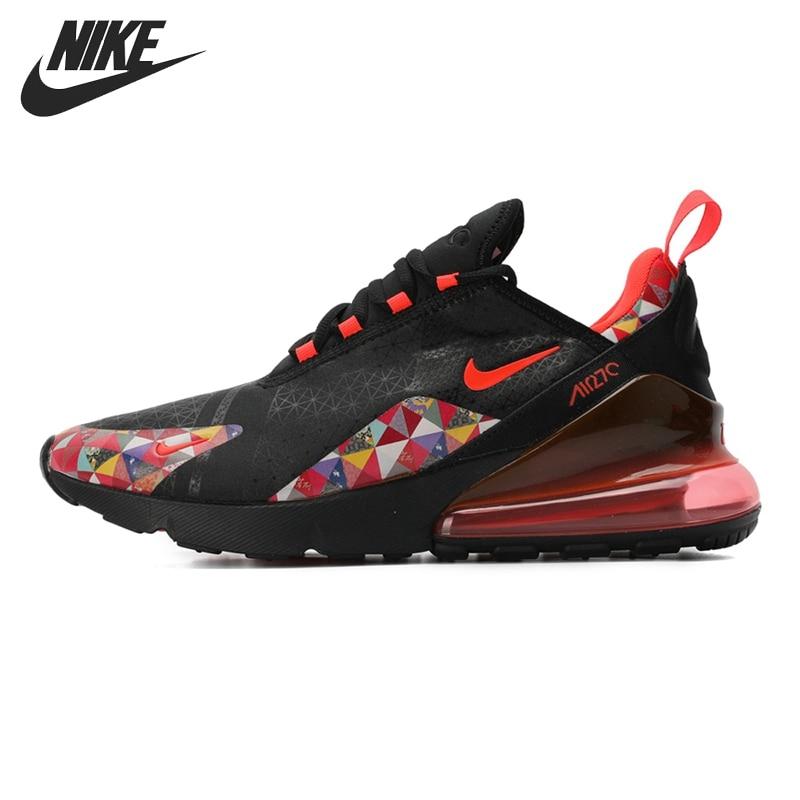 Оригинальный Новое поступление 2019 NIKE AIR MAX 270 для мужчин's кроссовки спортивная обувь