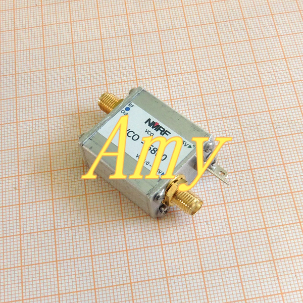 5.8G RF microwave voltage controlled oscillator, VCO, sweep signal source, signal generator5.8G RF microwave voltage controlled oscillator, VCO, sweep signal source, signal generator