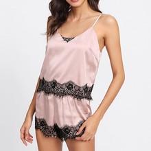 2PC pyjama sexy femme Lingerie Women Babydoll Nightdress Nightgown Sleepwear Underwear Set pijamas de mujer pijama