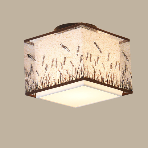 lampada do teto led chinesa estilo tradicional