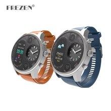 Sport Fitness Tracker Smart Watch T3 5ATM Waterproof Blood Pressure Oxygen Heart Rate Monitor Smartwatch Dual Time Zone