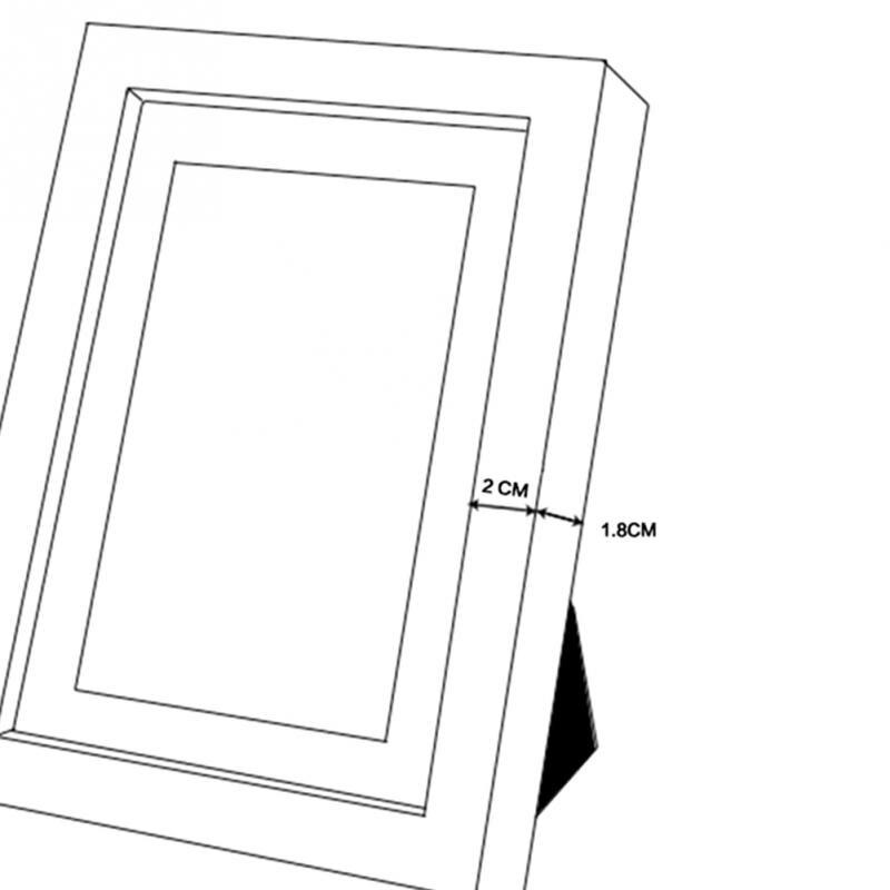 Schwarz Simulation Holz Tisch Bilderrahmen A4 Rahmen Komplette ...