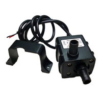 2x Ultra Quiet Micro Brushless DC12V 5W Motor Submersible Water Oil Pump 240L H