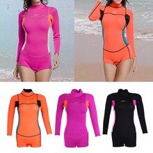 2mm Neoprene Surf Suit Back Zip Full Wetsuit Sports Skins Suit for Kayaking Snorkeling Scuba Diving Swimming Snorkeling Surfing недорго, оригинальная цена