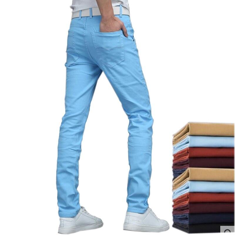 61cf3e412f23 € 13.53 20% de DESCUENTO|Pantalones informales de verano 2018 para hombre,  pantalones sueltos rectos, ropa fina para hombre, pantalones largos de ...