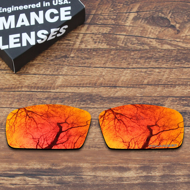 f923a88e0c ToughAsNails Resist Seawater Corrosion Polarized Replacement Lenses for Oakley  Canteen 2006 Sunglasses Orange Red Mirrored