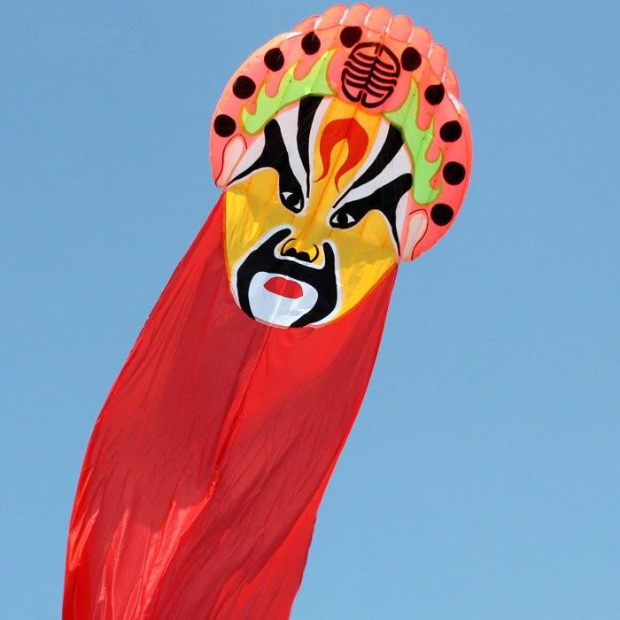 Livraison gratuite sports d'amusement en plein air la caractéristique chinoise 8 m Jiangwei logiciel cerf-volant/bon vol