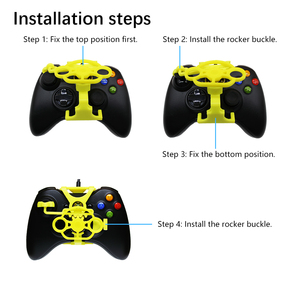 Image 5 - Xbox 360 Gaming Racing Wheel, 3D Printed Mini Steering Wheel add on for Xbox 360 Controller