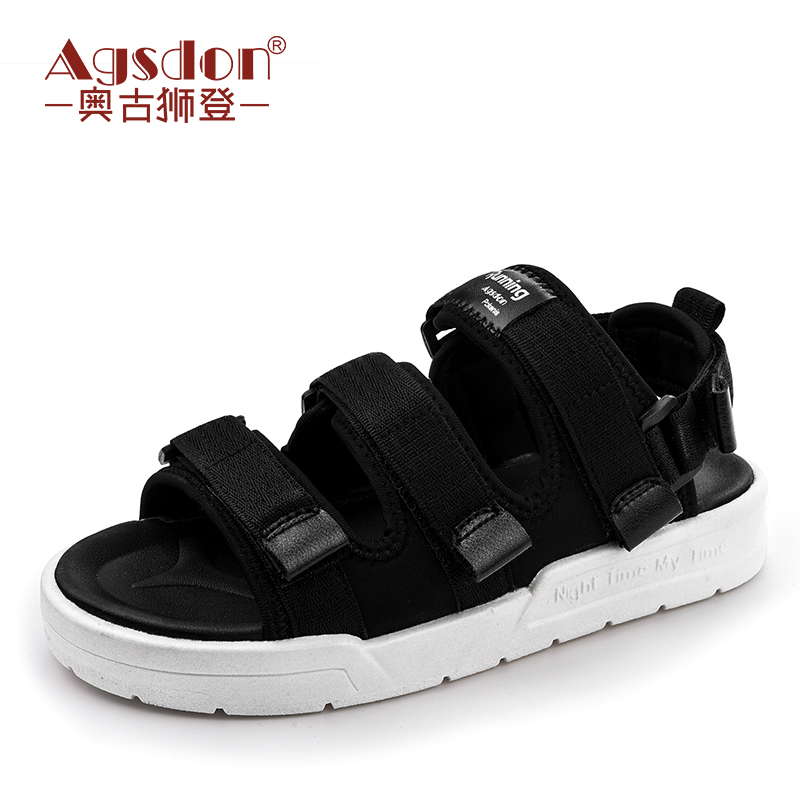 Sandal Girl, Xia Ping Di Student, Simple And Versatile 2018 New Korean Version, Beach Shoes, Summer Net Red Sports Women's Shoes