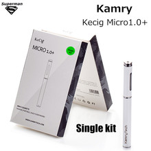 New original Kamry Micro+ kit 1ml tank Liquid Micro Pen 180mAh Vape Kit balck white Electronic Cigarette E-cigarettes Vaporizer