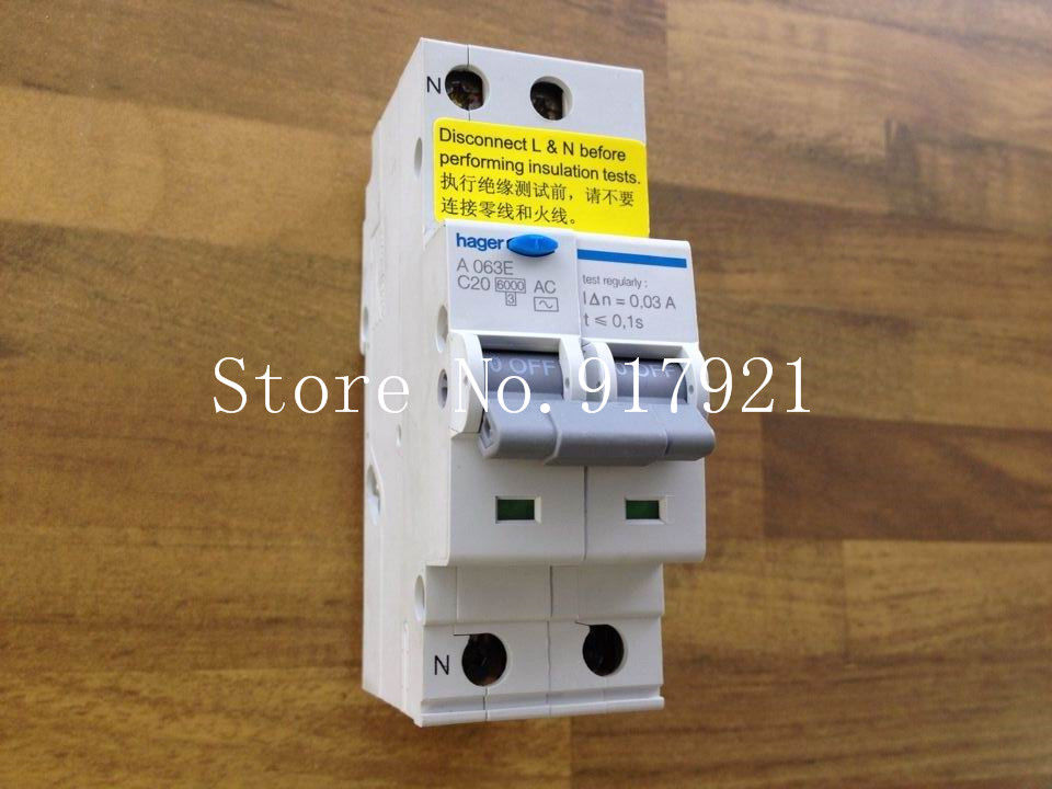 [ZOB] (store) original authentic French ORIGINAL A063E 2P20A Hagrid leakage electronic protective circuit breaker  --5pcs/lot