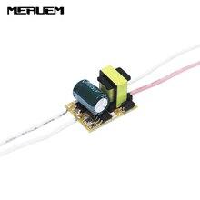 Free shipping 6pcs/lot (1-3)x 1W Led Driver 1W 2W 3W Lamp Driver Power Supply Lighting Transformer AC85-265V Output 300mA