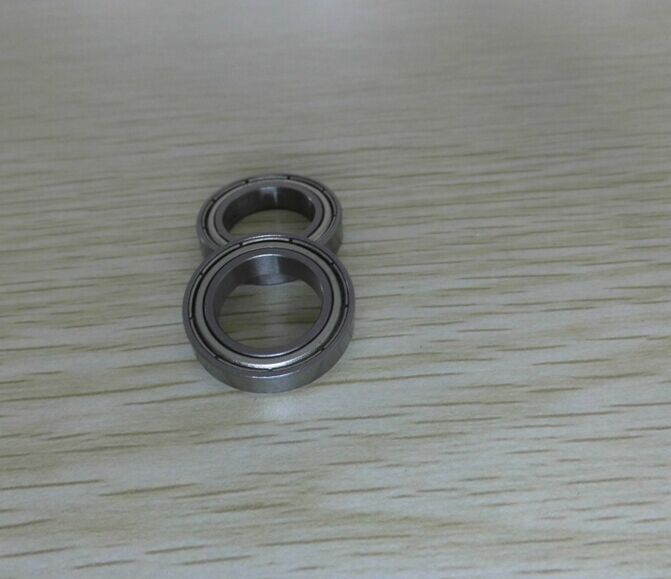 cost performance <font><b>6802ZZ</b></font> size 15x24x5mm GCr15 material Miniature Mini Bearing Deep Groove Ball Bearing image